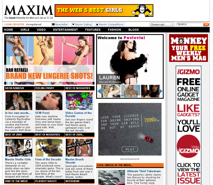 Maxim.co.uk